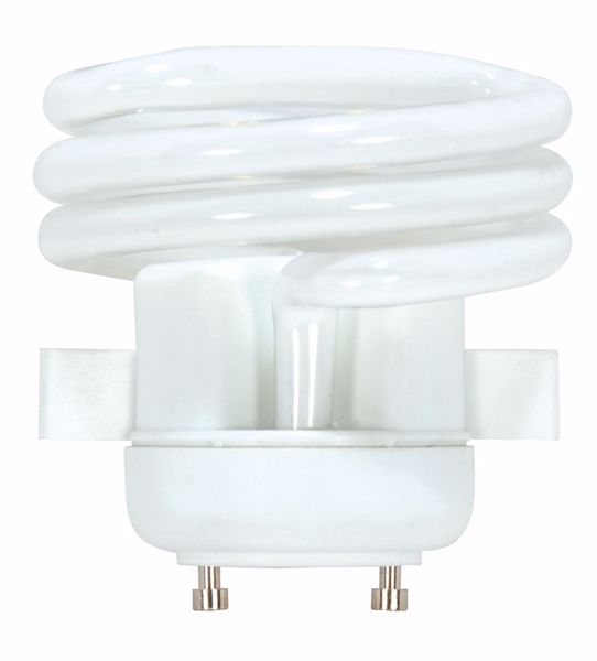 Picture of SATCO S8228 18T2/SQUAT/GU24/2700K/120V  Compact Fluorescent Light Bulb
