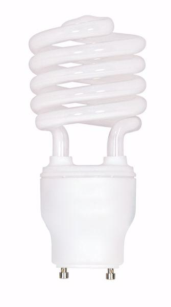 Picture of SATCO S8232 23T2/GU24/3500K/120V/1PK Compact Fluorescent Light Bulb