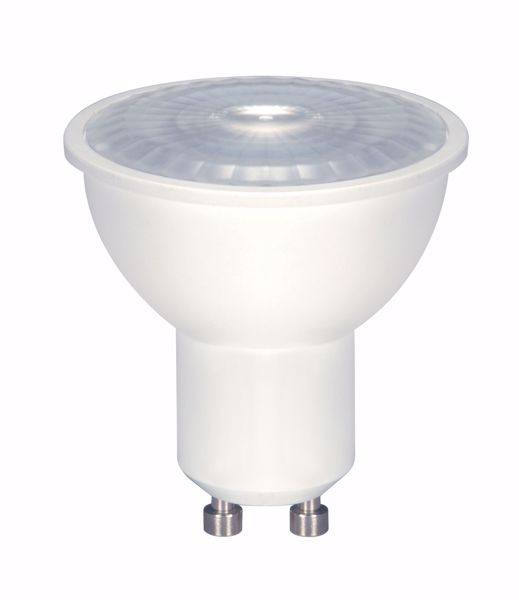 Picture of SATCO S8604 6.5MR16/LED/40'/30K/120V/GU10 LED Light Bulb