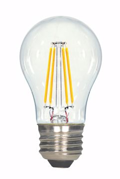 Picture of SATCO S8607 4.5A15/CL/LED/E26/27K/120V LED Light Bulb