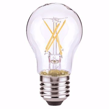 Picture of SATCO S8615 4.5A15/CL/LED/E26/27K/ES/120V LED Light Bulb