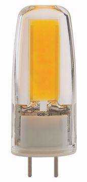 Picture of SATCO S8680 LED/4W/JC/G8/CL/3K/120V LED Light Bulb