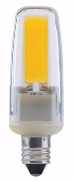 Picture of SATCO S8684 LED/4W/E11/MC/CL/3K/120V LED Light Bulb