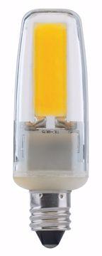 Picture of SATCO S8685 LED/4W/E11/MC/CL/5K/120V LED Light Bulb