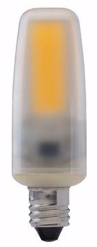 Picture of SATCO S8686 LED/4W/E11/MC/Frosted/3K/120V LED Light Bulb