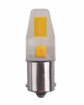 Picture of SATCO S8688 LED/3W/BA15S/CL/3K/12V LED Light Bulb