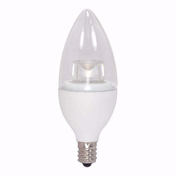 Picture of SATCO S8952 4.5CTC/LED/3000K/E12/120V LED Light Bulb
