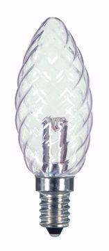 Picture of SATCO S9155 1W CTD/LED/CRYSTAL/120V/CD LED Light Bulb