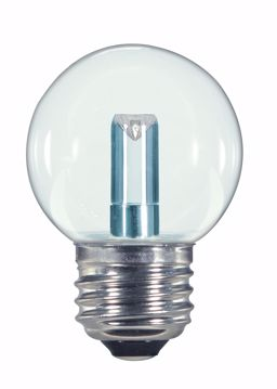 Picture of SATCO S9158 1.4W G16.5/CL/LED/120V/CD E26 LED Light Bulb