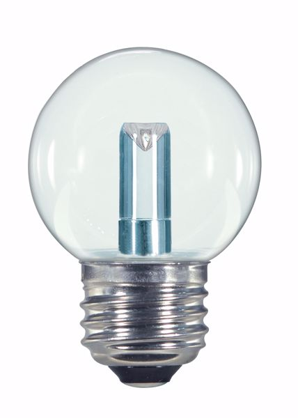 Picture of SATCO S9158 1.4W G16.5/CL/LED/120V/CD E26 LED Light Bulb