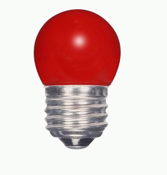 Picture of SATCO S9165 1.2W S11/RED/LED/120V/CD LED Light Bulb