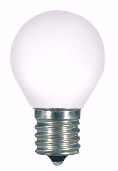 Picture of SATCO S9168 1.0W S11/WH/LED/E17/120V/CD LED Light Bulb