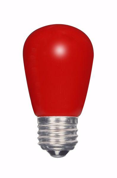 Picture of SATCO S9170 1.4W S14/RED/LED/120V/CD LED Light Bulb
