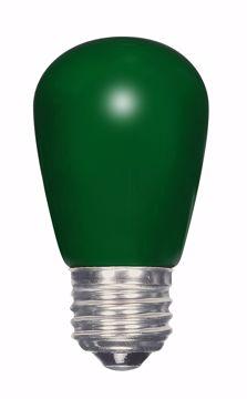 Picture of SATCO S9171 1.4W S14/GR/LED/120V/CD LED Light Bulb