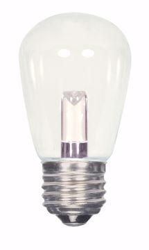Picture of SATCO S9174 1.4W S14/CL/LED/120V/CD LED Light Bulb