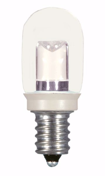 Picture of SATCO S9177 0.8W T6/CL/LED/120V/CD LED Light Bulb