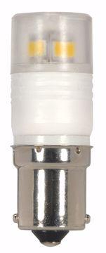 Picture of SATCO S9222 LED 2.3W BA15S 3000K LED Light Bulb