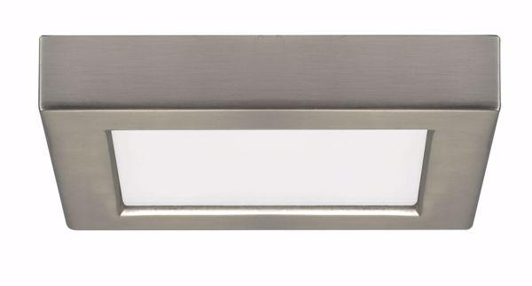 "Picture of SATCO S9325 10.5W/LED/5.5""FLUSH/27K/SQ/BN LED Light Bulb"