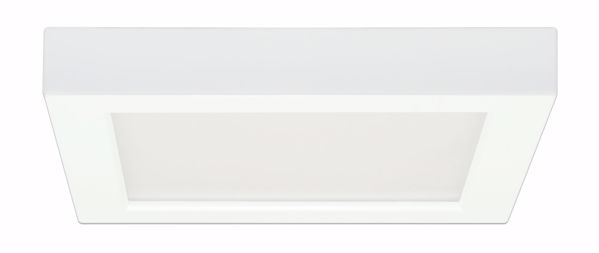 """Picture of SATCO S9332 13.5W/LED/7""""FLUSH/27K/SQ/WH LED Light Bulb"""