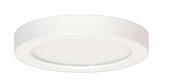 "Picture of SATCO S9336 18.5W/LED/9""FLUSH/27K/RD/WH LED Light Bulb"