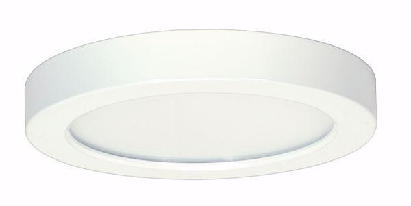 "Picture of SATCO S9357 13.5W/LED/7""/30K/RD/WH/277V LED Light Bulb"
