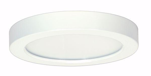 "Picture of SATCO S9360 13.5W/LED/7""FLUSH/50K/RD/WH LED Light Bulb"