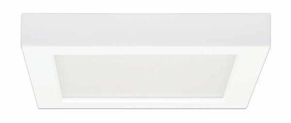 """Picture of SATCO S9361 13.5W/LED/7""""FLUSH/50K/SQ/WH LED Light Bulb"""