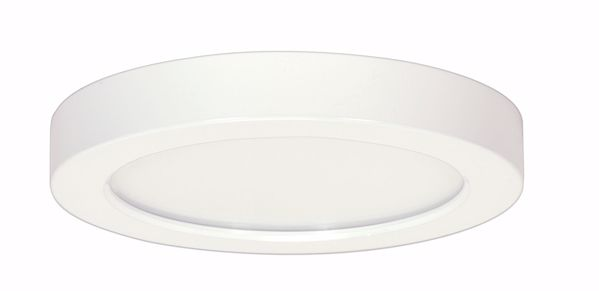 "Picture of SATCO S9362 18.5W/LED/9""FLUSH/50K/RD/WH LED Light Bulb"