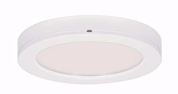 "Picture of SATCO S9364 13.5W/LED/7""FLUSH/30K/RD/WH/90 LED Light Bulb"