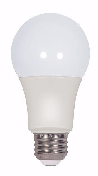Picture of SATCO S9375 9A19/LED/2700K/800L/120V/2PK LED Light Bulb