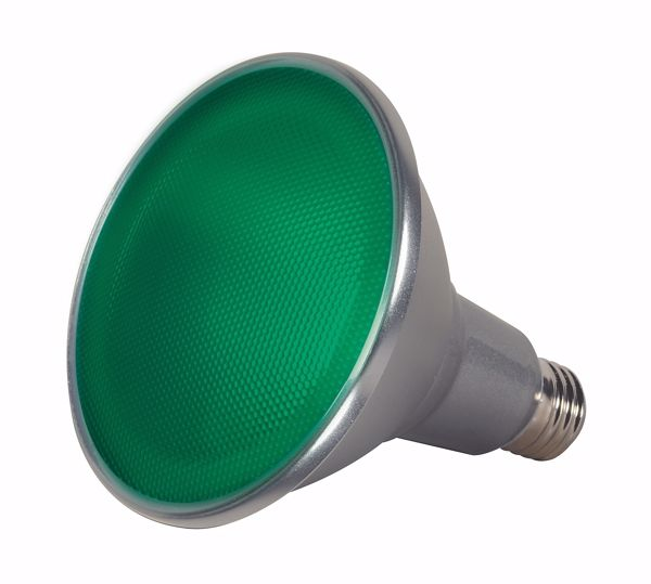 Picture of SATCO S9481 15PAR38/LED/40'/GREEN/120V LED Light Bulb