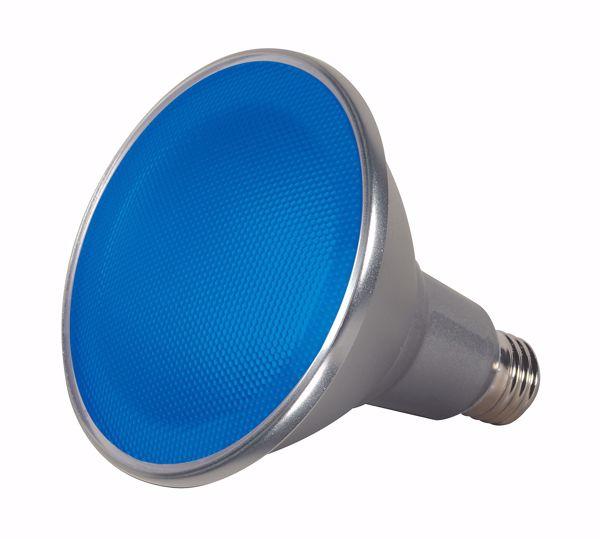 Picture of SATCO S9482 15PAR38/LED/40'/BLUE/120V LED Light Bulb