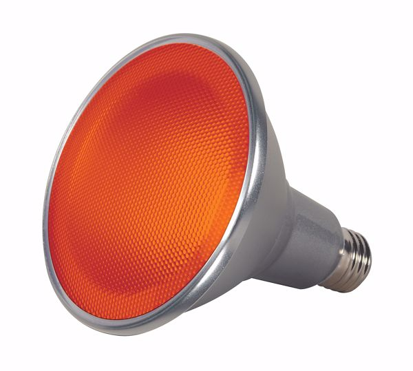 Picture of SATCO S9483 15PAR38/LED/40'/AMBER/120V LED Light Bulb
