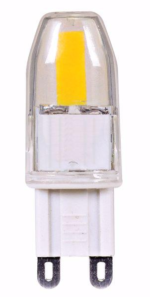 Picture of SATCO S9547 LED 1.6W JCD/G9 120V 5000K LED Light Bulb