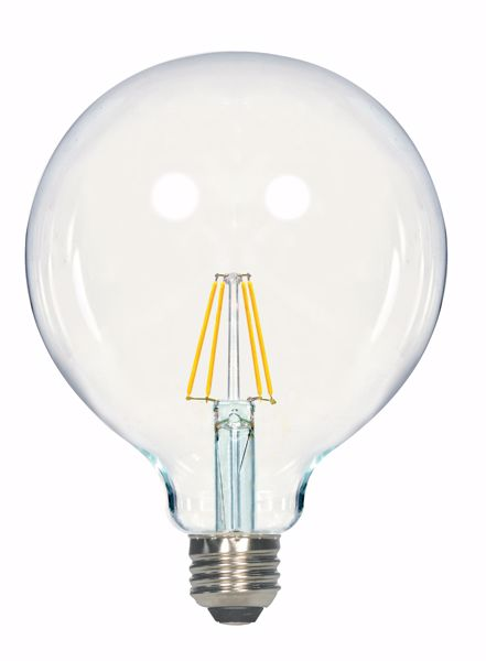 Picture of SATCO S9566 6.5G40/CL/LED/E26/27K/120V LED Light Bulb