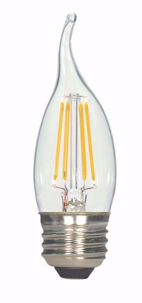 Picture of SATCO S9573 4.5W EFC/LED/27K/120V LED Light Bulb
