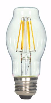 Picture of SATCO S9575 4.5BT15/CL/LED/E26/27K/120V LED Light Bulb