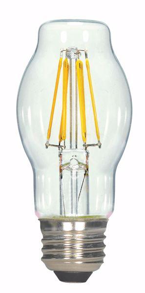 Picture of SATCO S9576 6.5BT15/CL/LED/E26/27K/120V LED Light Bulb