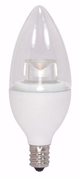 Picture of SATCO S9618 5CTC/LED/2700K/E12/90CRI LED Light Bulb