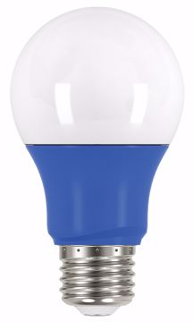 Picture of SATCO S9644 2A19/LED/BLUE/120V LED Light Bulb
