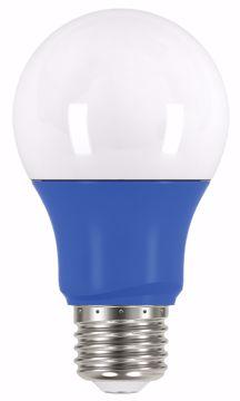 Picture of SATCO S9644 2A19/LED/BLUE/120V LED Light Bulb