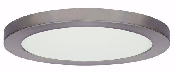 """Picture of SATCO S9651 25W/LED/13""""FLUSH/30K/RD/BN LED Light Bulb"""
