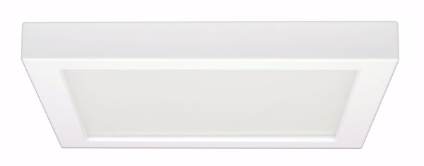 "Picture of SATCO S9687 18.5W/LED/9""FLUSH/3K/SQ/0-10V LED Light Bulb"