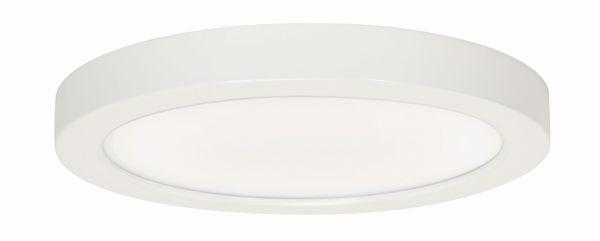 "Picture of SATCO S9690 18.5W/LED/9""FLUSH/40K/RD/WH LED Light Bulb"