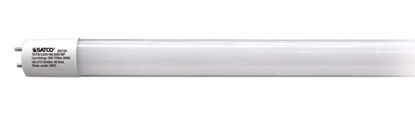 "Picture of SATCO S9720 15T8/LED/48-830/BP GLASS 48"" LED Light Bulb"