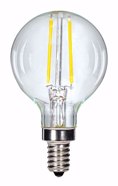 Picture of SATCO S9870 2.5G16/LED/CL/27K/120V/E12 LED Light Bulb