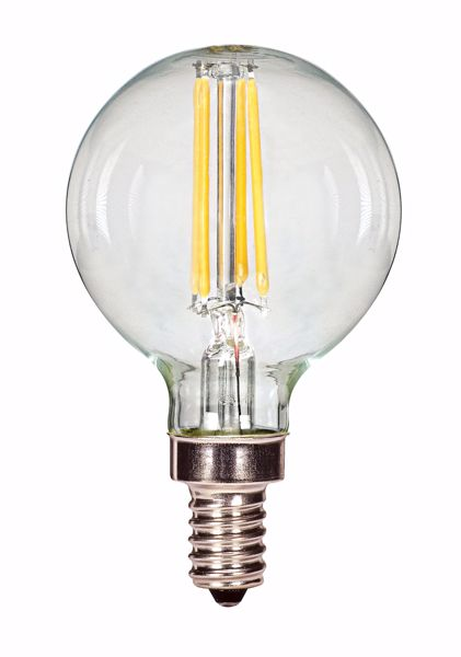 Picture of SATCO S9871 3.5G16/LED/CL/27K/120V/E12 LED Light Bulb