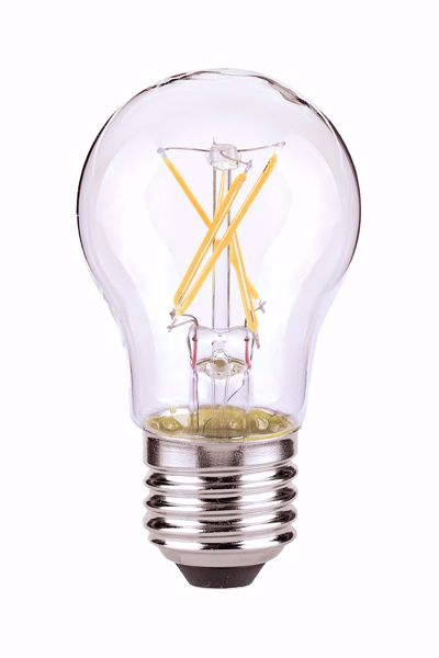 Picture of SATCO S9874 4.5A15/CL/LED/E26/27K/ES/120V LED Light Bulb