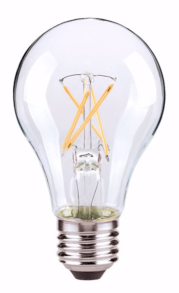 Picture of SATCO S9879 8.5A19/CL/LED/E26/27K/90CRI LED Light Bulb
