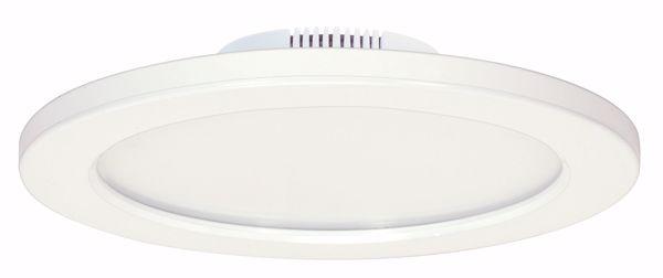 """Picture of SATCO S9886 16W/LED/9""""FLUSH/3K/WH/SL LED Light Bulb"""